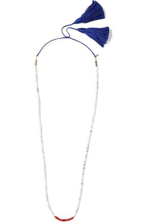 AURÉLIE BIDERMANN Sioux coral and bamboo necklace