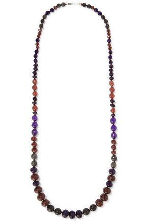 CHAN LUU Beaded cord necklace