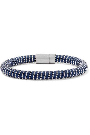 CAROLINA BUCCI Silver-tone woven bracelet