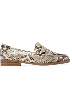 ALEXANDRE BIRMAN Python loafers