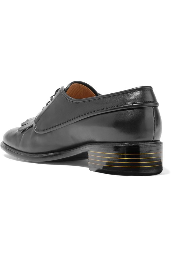 Fabre fringed leather brogues   SALVATORE FERRAGAMO   Sale up to 70% off    THE OUTNET