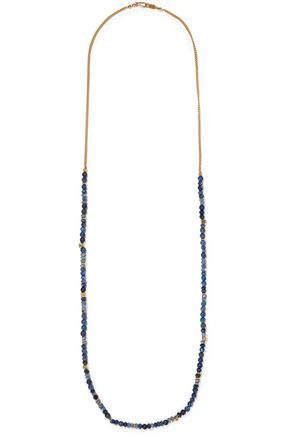 CHAN LUU Gold-tone beaded necklace