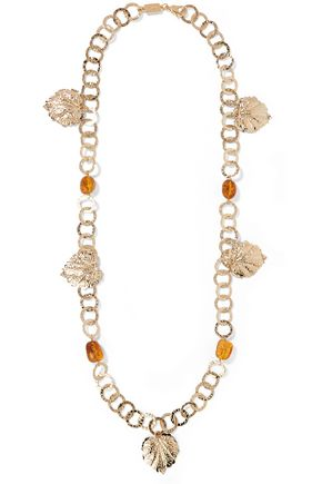 ROSANTICA Panico gold-tone stone necklace
