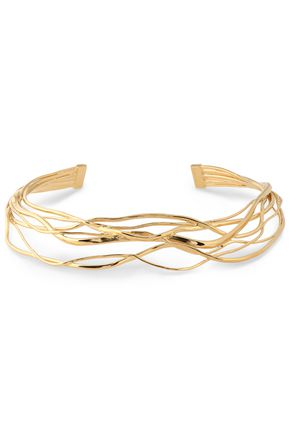 AURÉLIE BIDERMANN Ariane gold-plated necklace