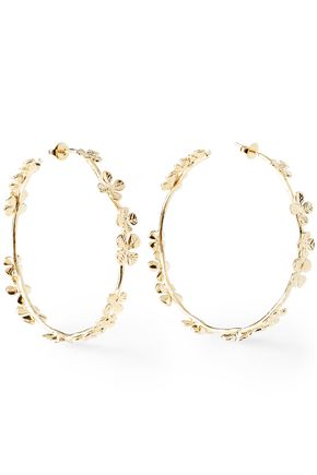 AURÉLIE BIDERMANN Gold-tone earrings