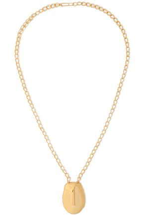 AURÉLIE BIDERMANN Gold-tone necklace