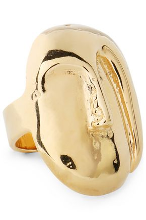 AURÉLIE BIDERMANN Gold-tone ring