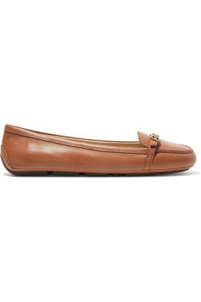 MICHAEL MICHAEL KORS Bryce leather loafers