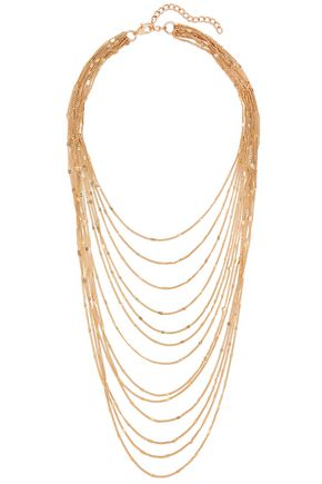 KENNETH JAY LANE Gone-tone necklace
