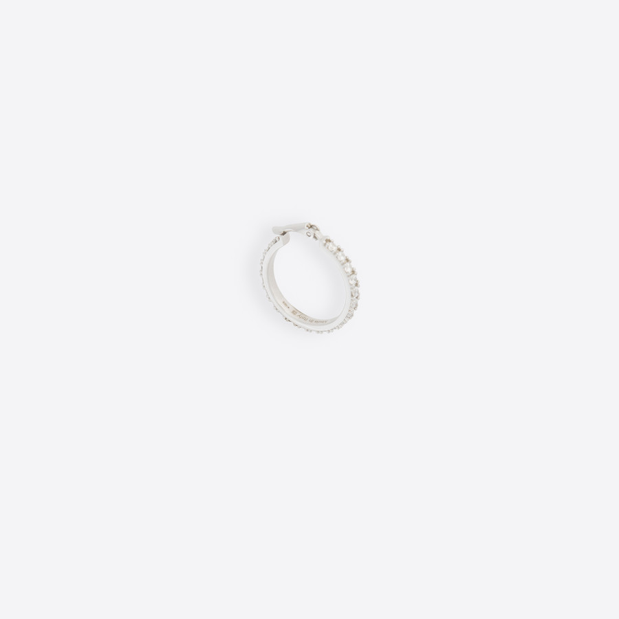 BALENCIAGA Buckle Stone Earring Earring Man f