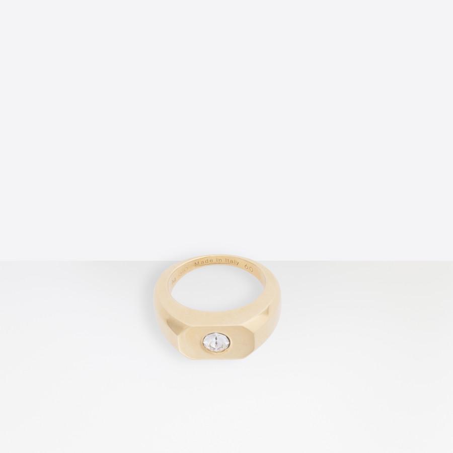 BALENCIAGA Stone G Ring Ring U f