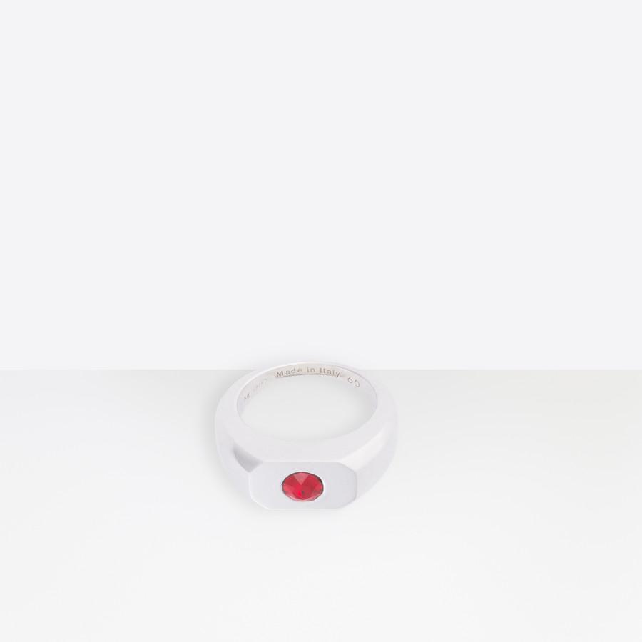 BALENCIAGA Stone G Ring Ring Man f