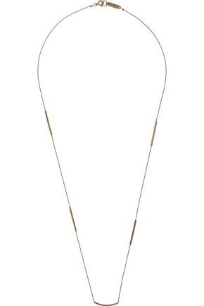 ISABEL MARANT Burnished gold-tone necklace