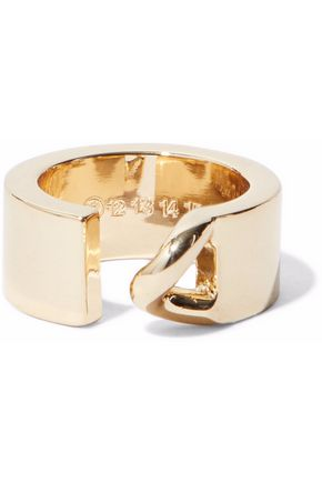 MAISON MARGIELA Gold-tone ring