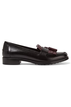 TOD'S Two-tone leather loafers