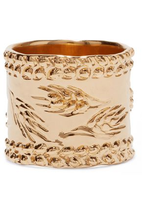 AURÉLIE BIDERMANN Gold-plated ring