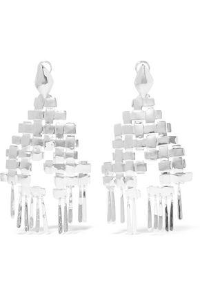 AURÉLIE BIDERMANN Marbella silver-plated earrings