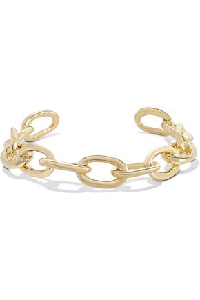 JENNIFER FISHER XL Chain Link gold-plated choker