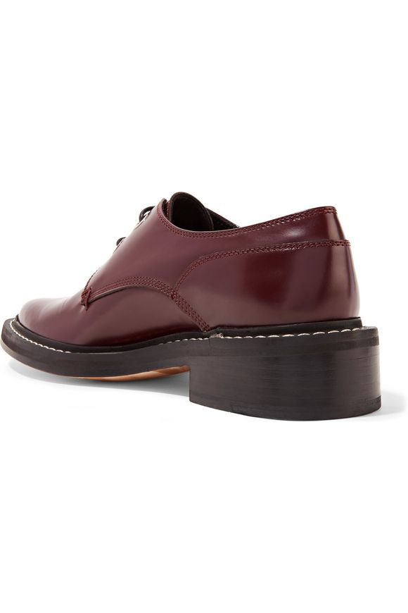 Kenton glossed-leather brogues | RAG & BONE | Sale up to 70% off | THE  OUTNET