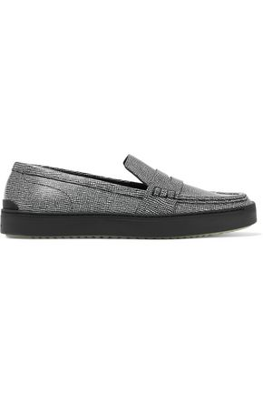 RAG & BONE Colby textured-leather sneakers