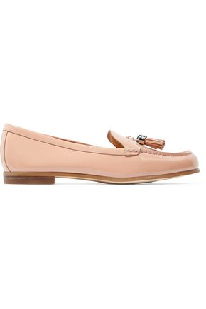 MICHAEL MICHAEL KORS Callahan tasseled patent-leather loafers