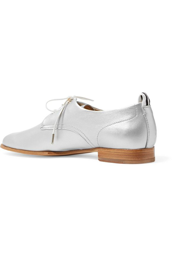 Audrey metallic leather loafers | RAG & BONE | Sale up to 70% off | THE  OUTNET