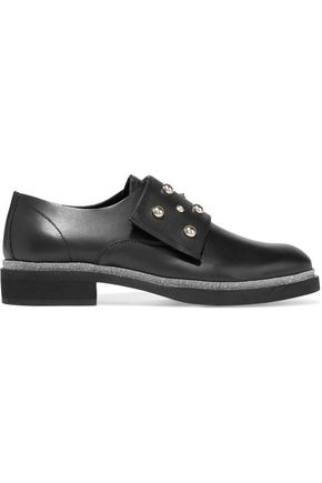 McQ Alexander McQueen Studded leather brogues
