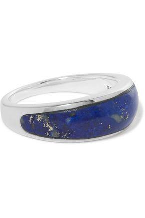 PAMELA LOVE Silver lapis lazuli ring
