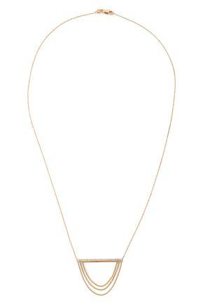 KHAI KHAI Gold-tone diamond necklace