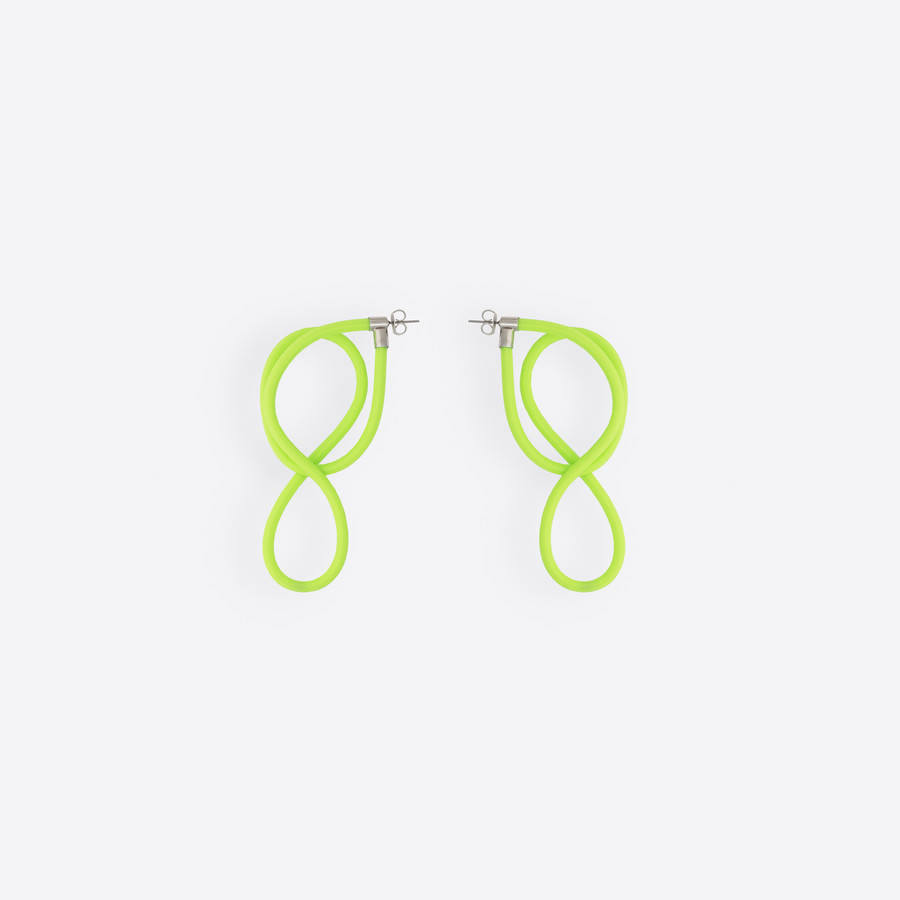 BALENCIAGA Elastic Magnet Earrings Earring Woman f