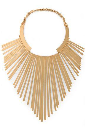 BALMAIN Gold-tone necklace