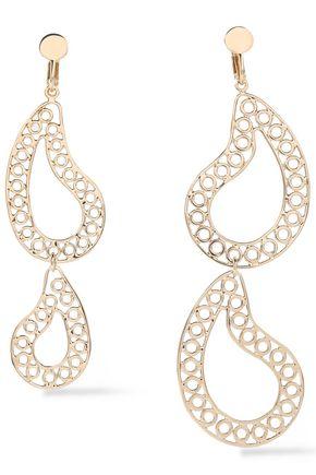 MAISON MARGIELA Silver-tone clip earrings