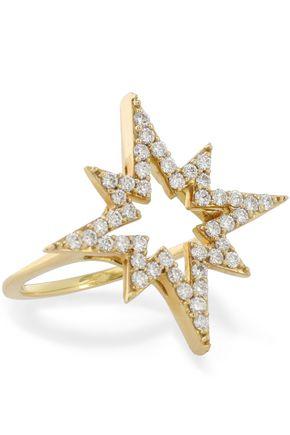KHAI KHAI 18-karat gold diamond ring