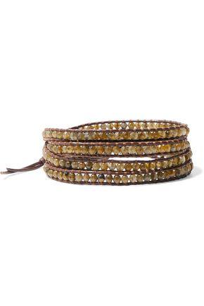 CHAN LUU Woven beaded bracelet