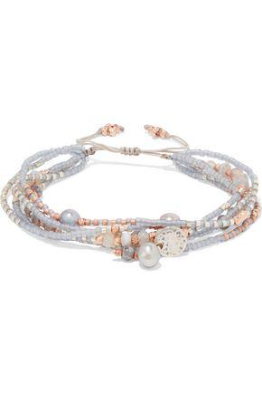 CHAN LUU Beaded rope bracelet