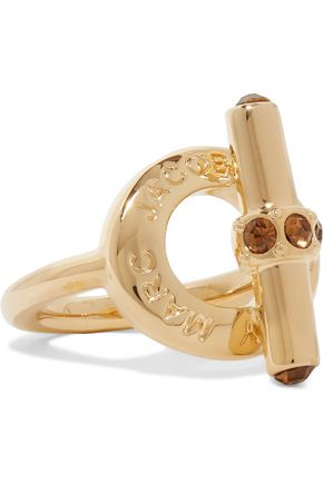 MARC BY MARC JACOBS Rose gold-tone crystal ring