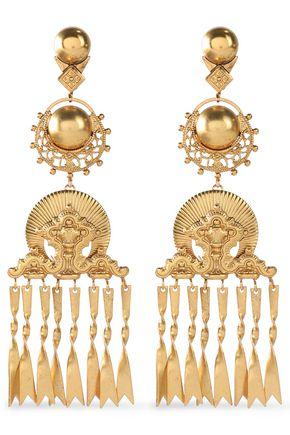 ELIZABETH COLE Gold-tone earrings
