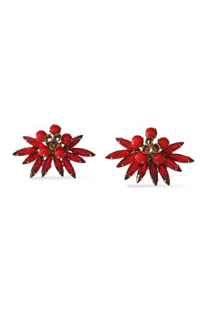 ELIZABETH COLE Stone earrings