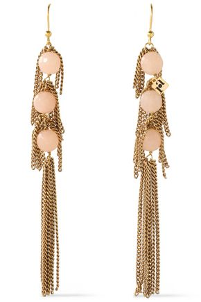 ROSANTICA Gold-tone stone earrings