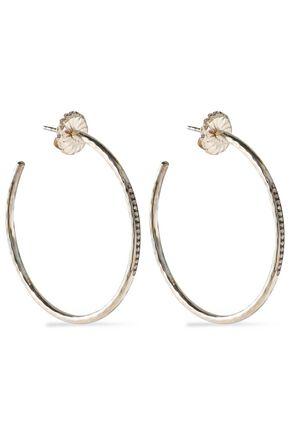 IPPOLITA Sterling silver diamond hoop earrings