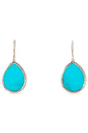 IPPOLITA Silver-tone stone earrings
