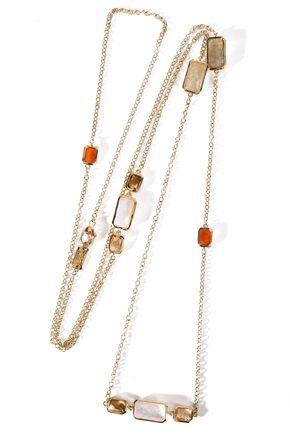 IPPOLITA Gold-tone stone necklace