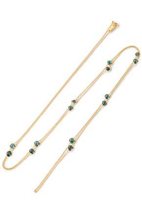 IPPOLITA 18-karat gold topaz necklace
