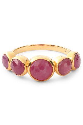 IPPOLITA 18-karat gold stone ring