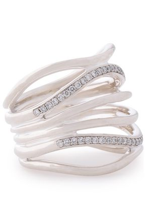 IPPOLITA Silver crystal ring