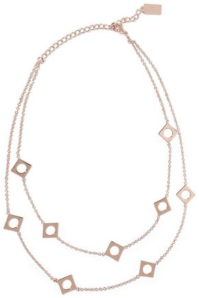 ARME DE L'AMOUR Rose gold-tone necklace