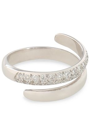 ILEANA MAKRI White gold diamond ring