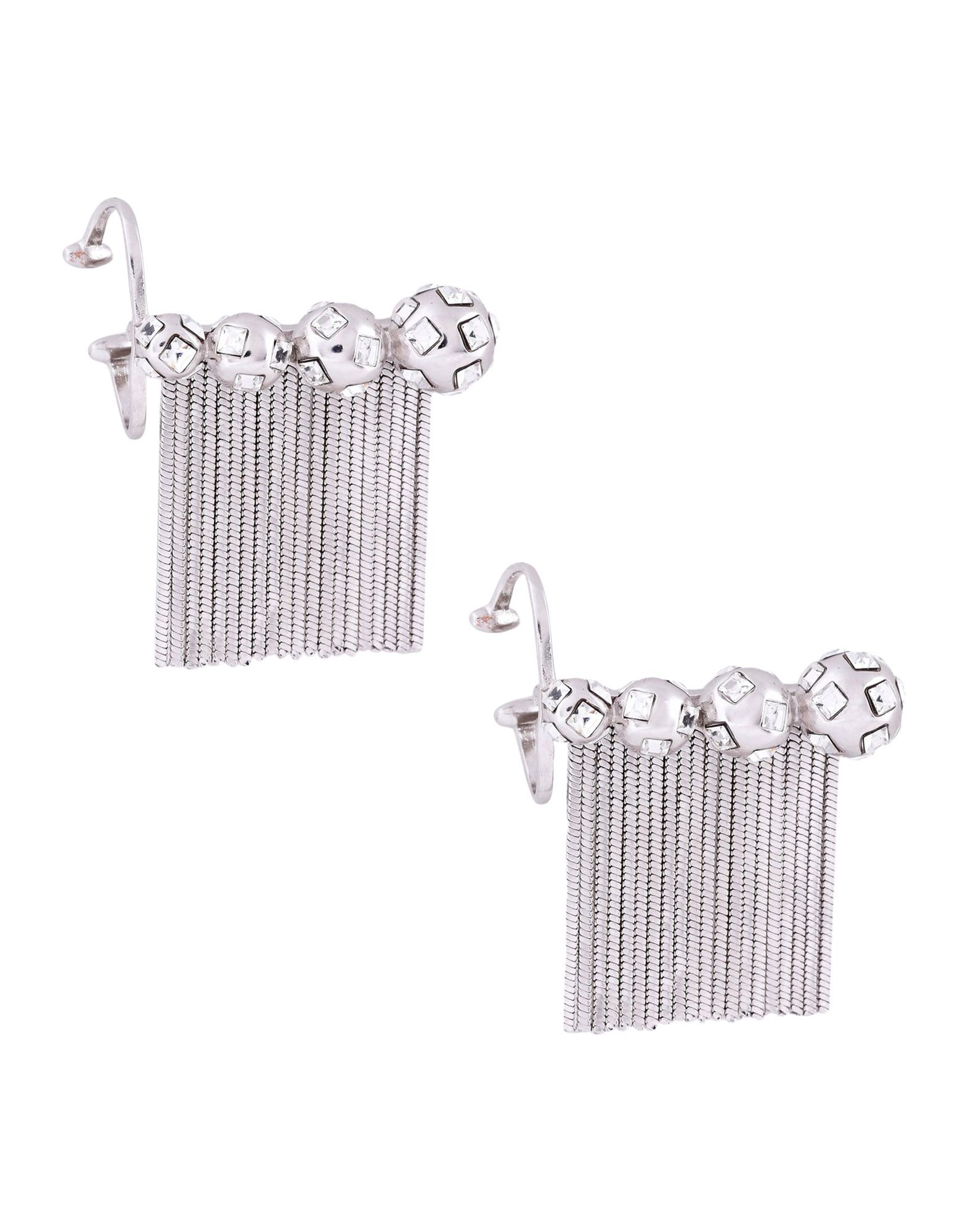 CA&LOU Earrings in Silver