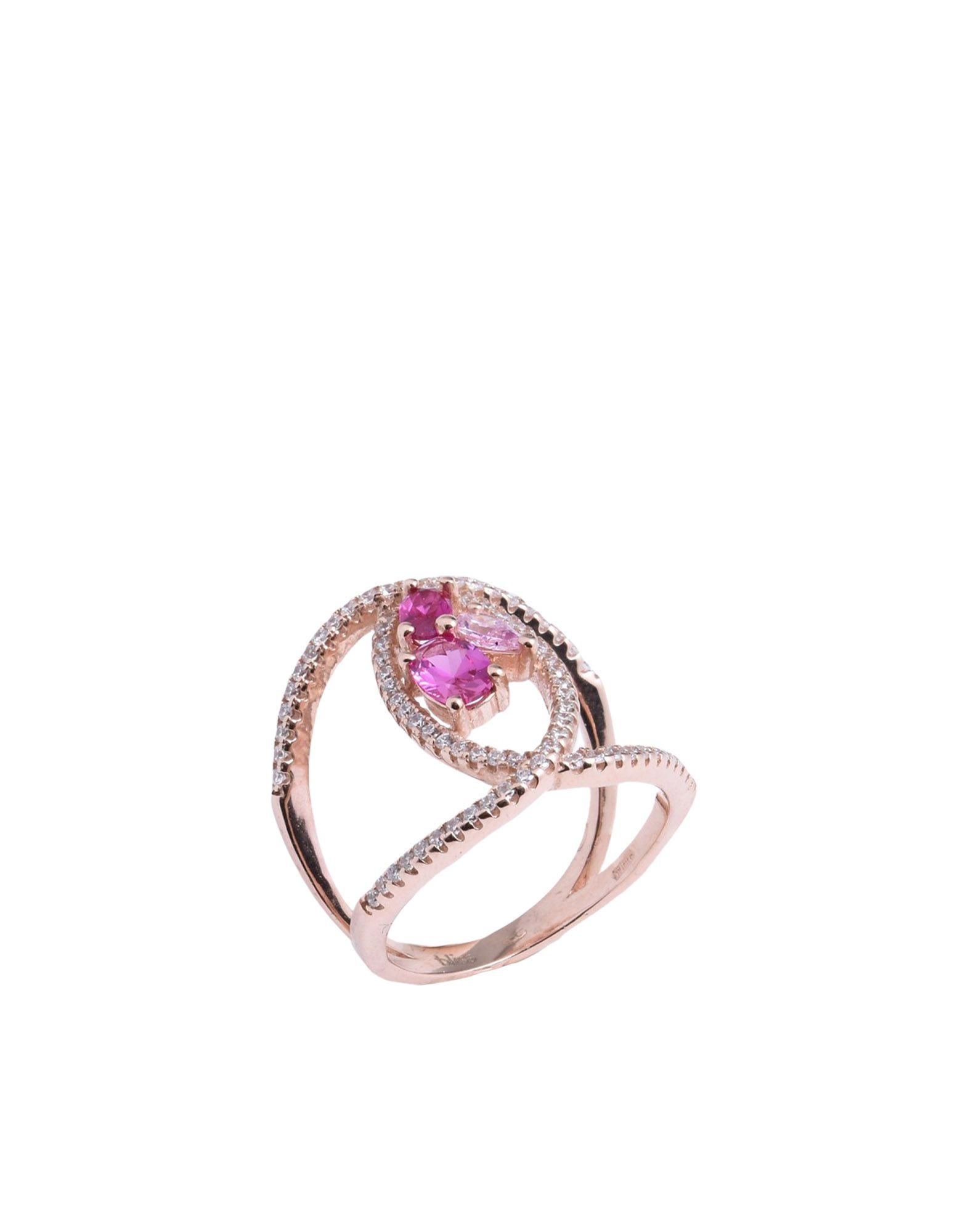 《送料無料》BLISS レディース 指輪 カッパー 15 シルバー925/1000 / キュービックジルコニア