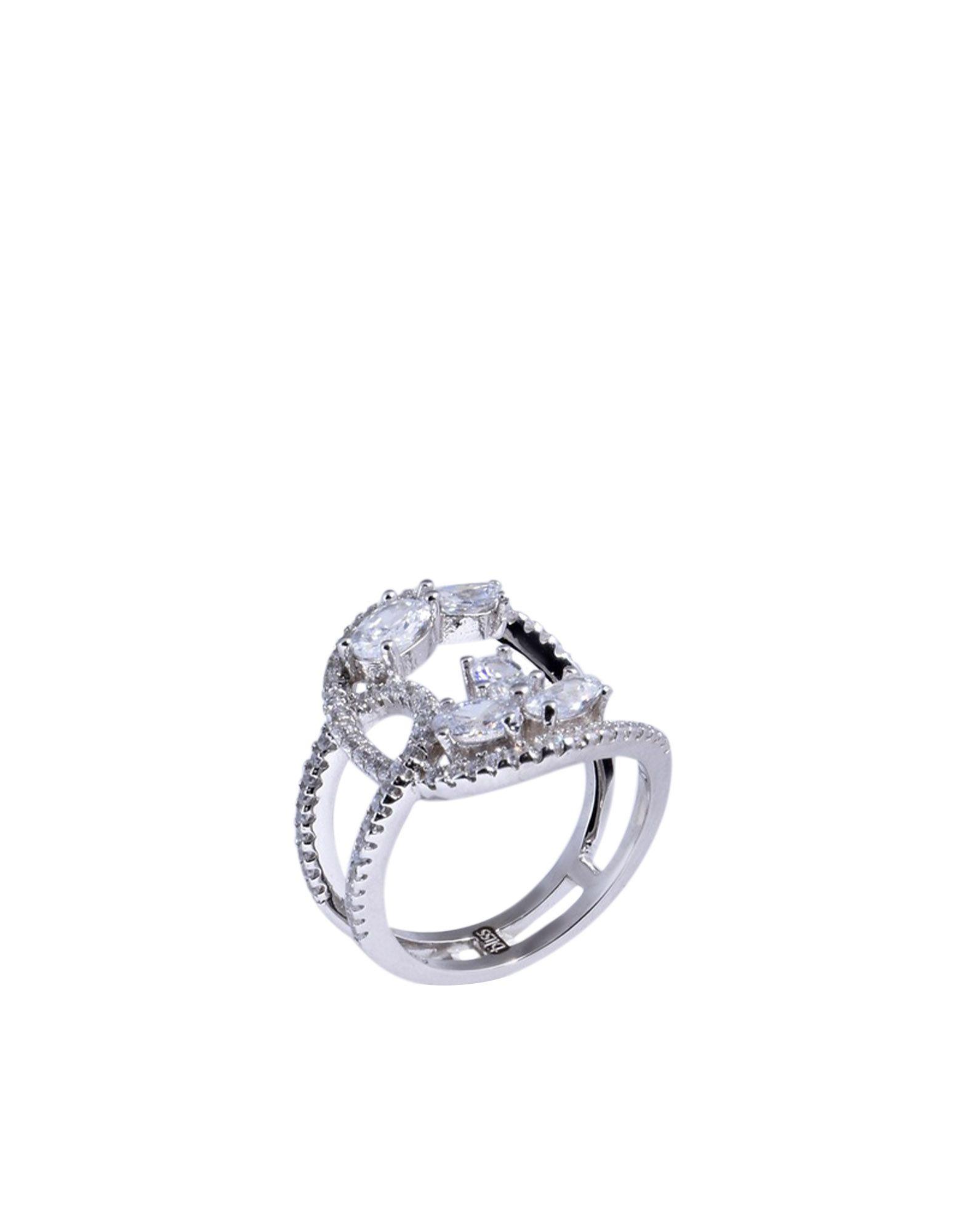 《送料無料》BLISS レディース 指輪 シルバー 14 シルバー925/1000 / キュービックジルコニア